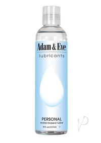 A and E Personal Water Based Lube 8 Oz