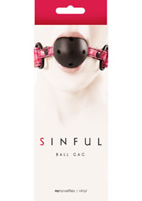Sinful Ball Gag Pink