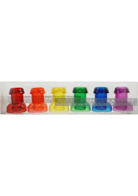 Rainbow Shot Glass Set