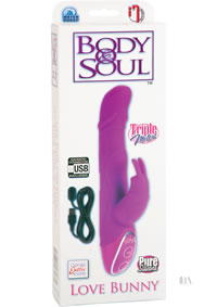 Body and Soul Rechargeable Love Bunny Pink