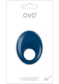 Ovo B5 Vibrating Ring Blue
