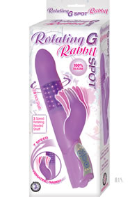 Rotating G Spot Rabbit Purple(disc)
