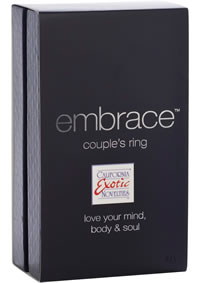Embrace Couples Ring Pink