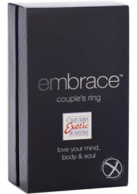 Embrace Couples Ring Grey
