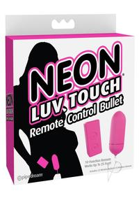 Neon Luv Touch Remote Bullet Pink