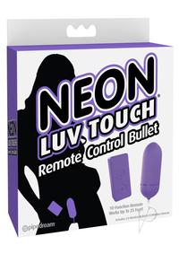 Neon Luv Touch Remote Bullet Purple