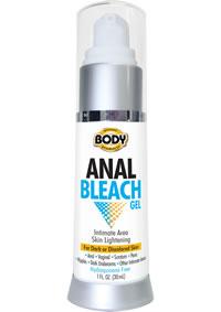 Body Action Anal Bleach Gel 1oz Bottle