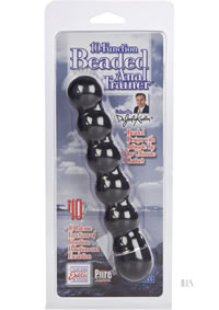 10 Functional Anal Trainer Beaded Black