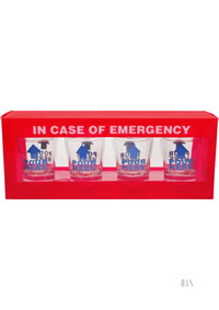 In Case Of Emergency Shot Glass Set