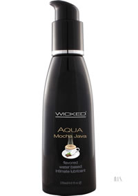 Wicked Aqua Mocha Java Lube 4oz