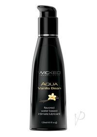 Wicked Aqua Vanilla Bean Lube 4oz
