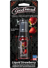 Goodhead Oral Spray Strawberry 1oz