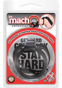 Macho Supreme Stamina Snap On Duo Ring