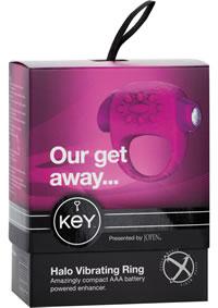 Keys Halo Raspberry Pink