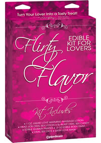 Flirty Flavor Kit For Lovers