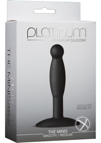 Platinum Minis Smooth Med Blk
