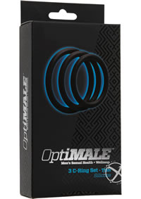 Optimale 3 C-ring Thin Set Black