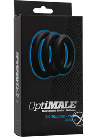 Optimale 3 C-ring Thick Set Black