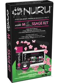 Wet Nuru Massage Kit