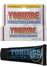 Yohimbe Erection Cream .5oz (disc)