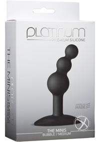 Platinum Mini Bubble Med Black