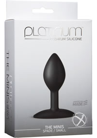 Platinum Mini Spade Small Black