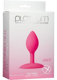 Platinum Mini Spade Small Pink