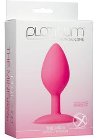 Platinum Mini Spade Med Pink