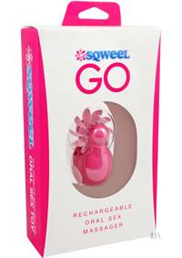 Sqweel Go Usb Oral Sex Massager Pink