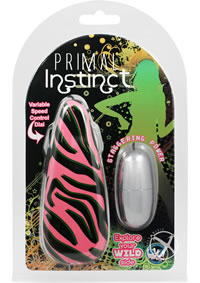Primal Instinct Zebra Pink