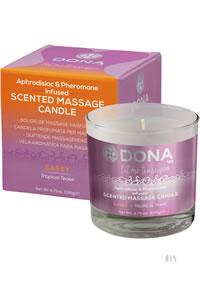 Dona Massage Candle Tropical Tease4.7oz