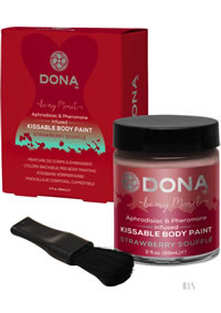 Dona Body Paint Strawberry Souffle 2oz