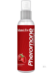 A and E Pheromone Massage Oil Strawberry