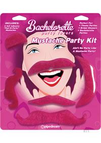Bp Mustache Party Kit