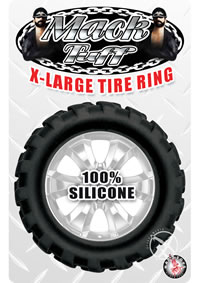 Mack Tuff Xlarge Tire Ring Black