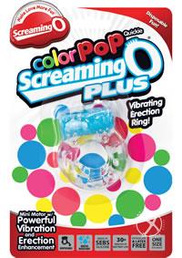 Color Pop Quickie Scream Plus Blue-loose