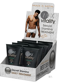 Max4men Vitality Stamina Treatmen 8/disp