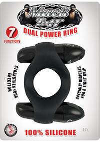 Mack Tuff Dual Power Ring Black(disc)