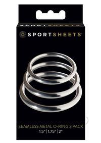 Metal O Ring 3/pk