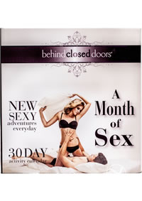 Bcd Month Of Sex Calender