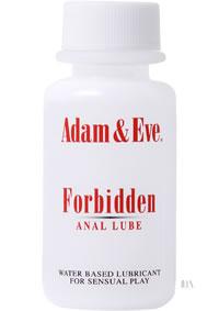 A and E Forbidden Anal Lube 1oz