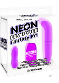 Neon Luv Touch Fantasy Kit Purple