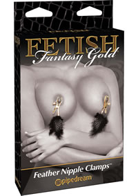 Ff Gold Deluxe Feather Clamps