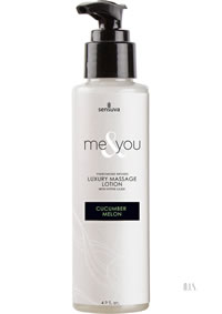Me and You Massage Lotion Cucumber Mel 4.2