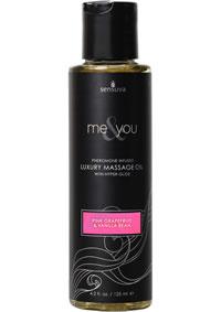 Me and You Massage Oil Grapefruit Van 4.2