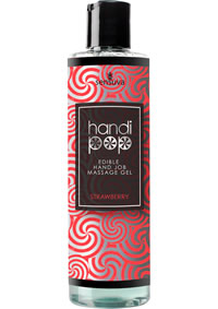 Handipop Massage Gel Strawberry 4.2oz