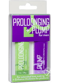 Proloonging and Plump For Men Kit
