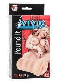 Vivid Raw Pound It Pussy Ivory