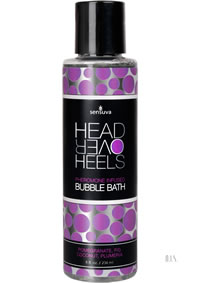 Head Over Heels Bubble Bath Pomegran 8oz