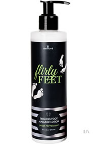 Flirty Feet Massage Lotion Peppermint